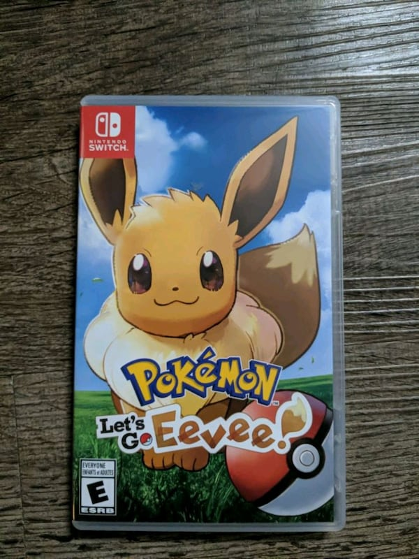 Pokemon let's go Eevee Nintendo switch 0266064a-1b65-4ed9-8de1-4e4acf22e4a1