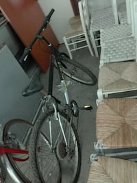 mountain bike hardtail grigio e nero Rome, 00124
