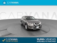 2017 *Nissan* *Rogue* S Sport Utility 4D hatchback Gray Fort Myers