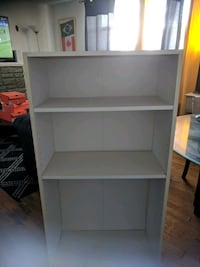white wooden 3-layer shelf Ottawa, K1K 2M9