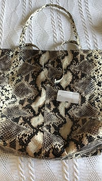 Brown and black leopard print textile