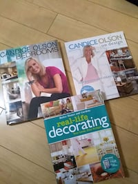 Design and decorating books all for 10$ Brampton, L6P