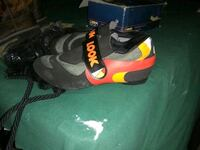 pair of black-and-red Nike basketball shoes 2052 mi