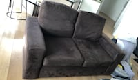 gray suede 2-seat sofa Hawthorn East, 3123