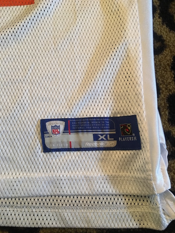 e382c9a0c0d Used White and Orange nfl jersey for sale in Columbus - letgo