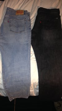 Blue and black Levi's denim jeans Arlington, 22207