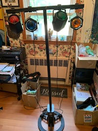 Lite F/X adjustable 5 ft Musical spot light tower with flash control