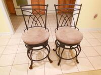 Swivel bar height chairs Bowie