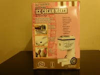 Old fashioned ice cream maker still in box TORONTO