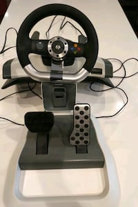 Xbox Steering Wheel and Pedals Sherwood Park, T8A 5N8