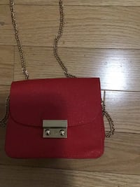 red leather crossbody bag with tassel Brampton, L6P 3N6