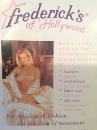 Fredrick's of Hollywood high quality adhesive bra cups Dollard-des-Ormeaux, H9G 1W3