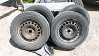 215/65 R16's winter tires on 5 bolt pattern rims Newmarket, L3Y 9A4