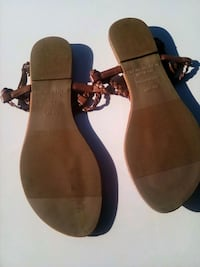 pair of brown leather sandals Fresno, 93706