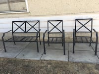 Patio set (just the chairs cushions is not available Edmonton, T5P