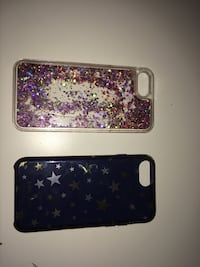 iPhone cases 6,7 & 8  10 for the sparkling  25 for the Kate spade. Calgary, T3A 5L7