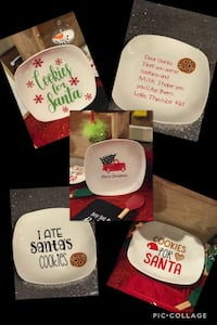Custom cookie plates for Santa  Winston-Salem, 27127