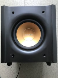 """Accurian 8"""" 125 watt powered subwoofer Lake Forest, 92630"""