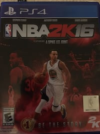 Ps4 NBA 2k16 Mount Airy, 21771