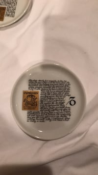 Capricorn Zodiac Small plate  Brookfield, 06804