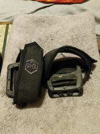 Odyssey Twisted PC pedals with 6ku foot straps.