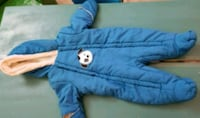 Baby snow suit like new 0 to 6months London