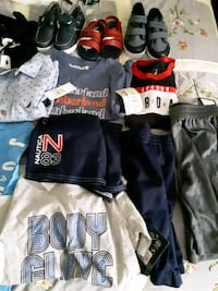 brand new toddlers clothes n shoes