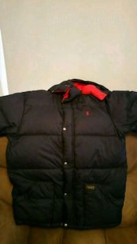 Boy's Ralph Lauren Navy blue winter coat Hagerstown