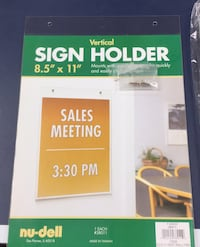 Vertical sign Holder - new Camp Hill, 17011