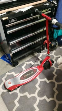 red and gray Razor electric scooter Paramount, 90723