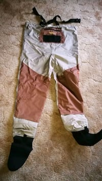 Caddis breathable waders never used