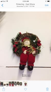 HAND MADE CHRISTMAS WREATH Pickering, L1X 2T4