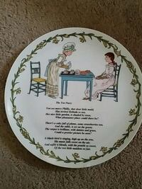 Collectable plate  Lowell, 01850