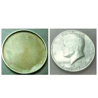 1974 round silver-colored Liberty coin photo collage Montreal, H4L 2V5