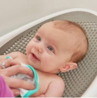 Angelcare baby bath support grey,new costs $20 Palm Springs, 92262