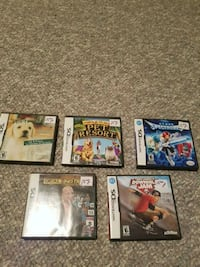 Nintendo DS Games. 15 each  Edmonton, T5Y 2P2