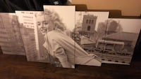 Marilyn Monroe wall art.. 40x20 Upper Marlboro, 20772