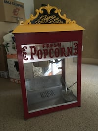 Theatre popcorn right at home!! Works awesome!