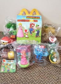 BRAND NEW / SEALED! Super Mario toys set Coquitlam, V3B 4R9