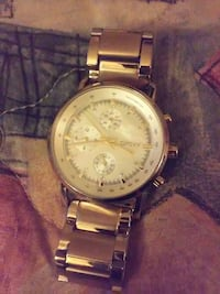 Womens gold dkny watch