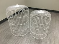 Bird cages for SALE $25 each or both for $40. Metal Mississauga