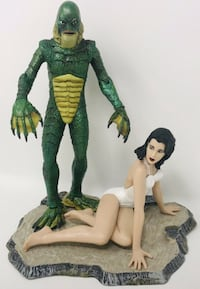 Rare! Creature From The Black Lagoon w/Kay Figures Palos Hills