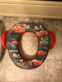 Disney cars potty trainer cover