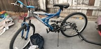 blue and black full-suspension bike Bakersfield, 93307