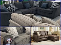 SIMMONS 2 Piece Sofa Sets (NEW)