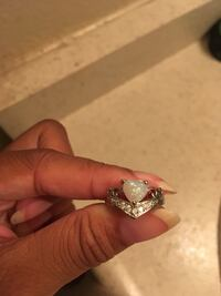 925 sterling silver opal ring 20$ firm Arcade, 95825