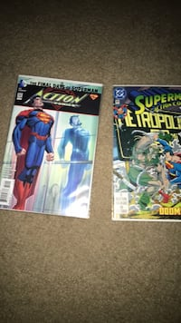 two Marvel Comics comic books Hyattsville, 20782