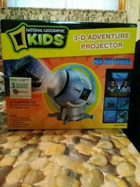 National Geo 3D projector