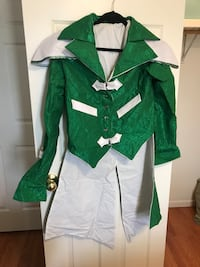 Emerald costume jacket M and pants suit