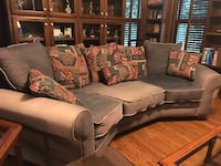 fabric sectional sofa with throw pillows Mint Hill, 28227